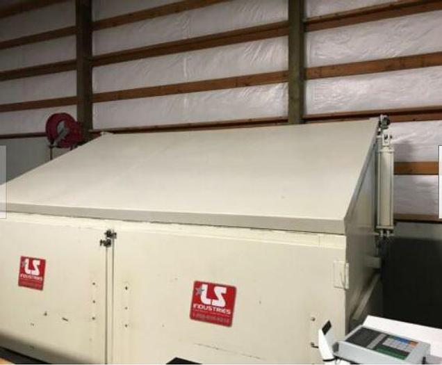 2005 LS Industries Vibratory Tumbler Finisher 160s Deburr Machine 145 cu. ft.