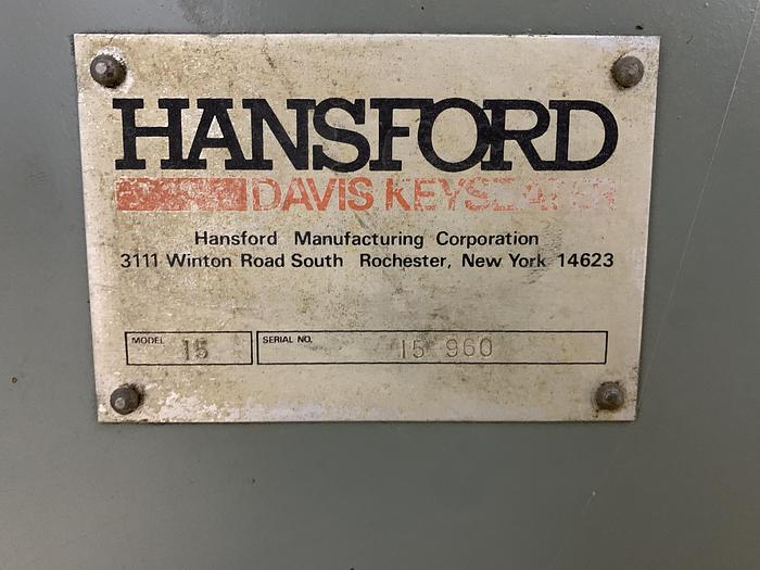 Davis / Hansford Mdl. 15 Keyseater
