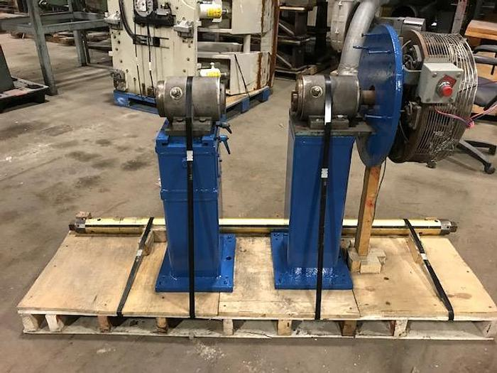 "Used 60"" (1.52M) BELOIT SHAFTED UNWIND STAND 3"" AIR SHAFT"