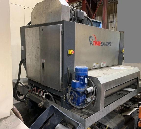 "Used 2016 52"" Timesaver 'Puma' Model 52-MWT-DD-75 Graining/Finishing Machine"
