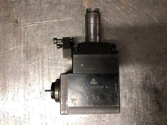 INDEX Angetriebenes Werkzeug VDI 25