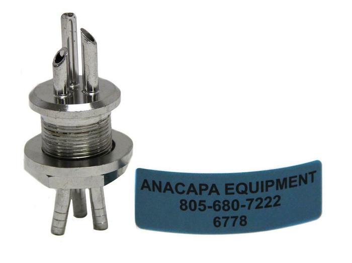 Used Applikon Broadley-James B4-42002-8T9-M27, Triple port, 27mm (6778)W