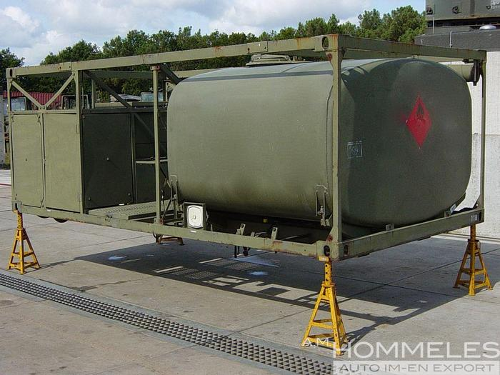 Used Ten cate 3000ltr
