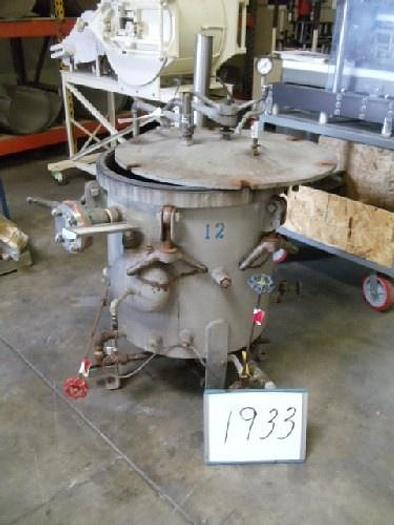 Used Vertical Lab Retort 24''D X 20'' D #1933
