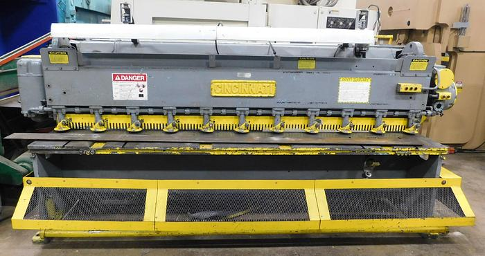 Used Cincinnati 10' x 10ga Mechanical Shear 1010