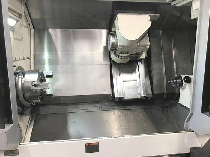 2015 OKUMA MULTUS B400ii-1500 FULL 5 AXIS CNC TURNING CENTER