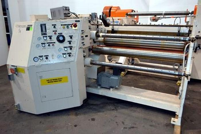 "Used 54"" (1.37M) ARROW DUPLEX SLITTER MDL. 406-4 W/ 2 PNEUMATIC KNIVES"