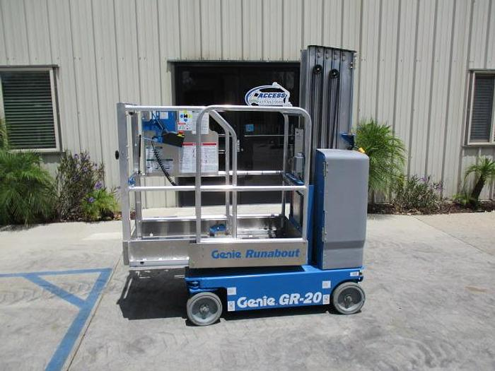 Used 2020 GENIE GR-20 2WD DC Runabout