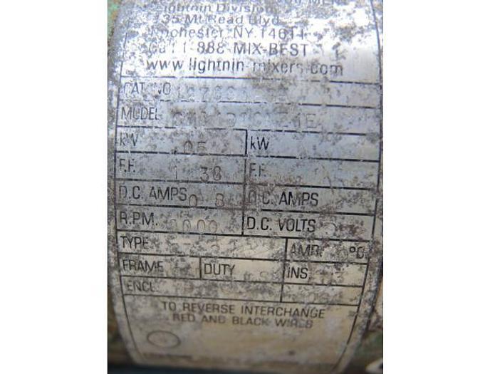 USED LIGHTNIN CLAMP-ON MIXER, MODEL G2S050