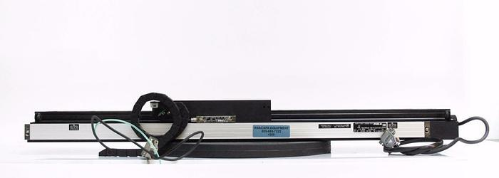 Used Veeco Vx-330 Linear Motorized Stage Axis, Vexta Motor, Linear Encoder (4359)