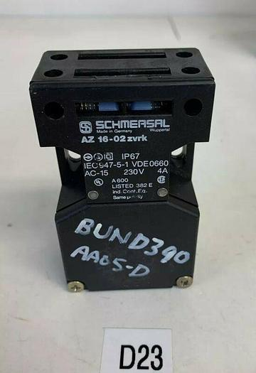 Schmersal AZ16-02ZVRK safety switch NEW No Box Fast Shipping!