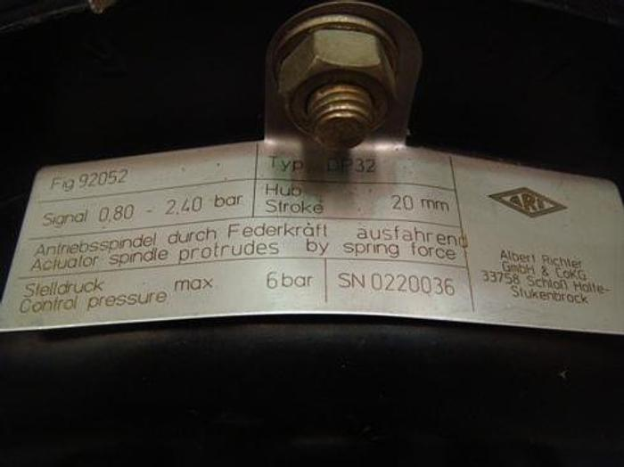 ARI-PREMIO Pneumatic Steam Regulation Valve DP32