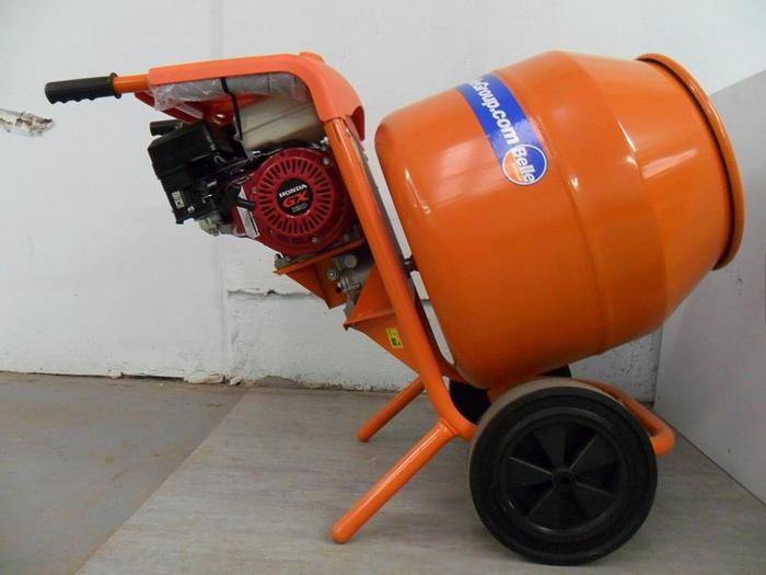 Petrol Cement Mixer Belle