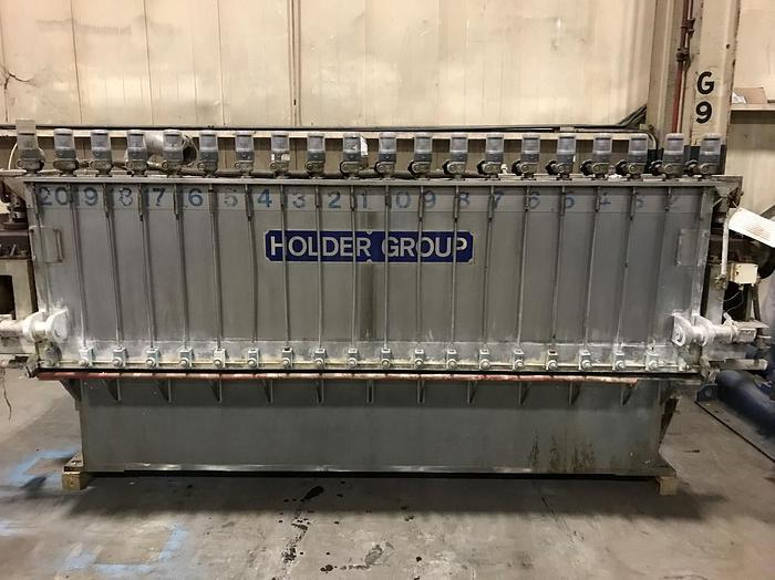 "Used 115"" (2.92M) HOLDER PAMAC  S/S AIR PAD HEADBOX"