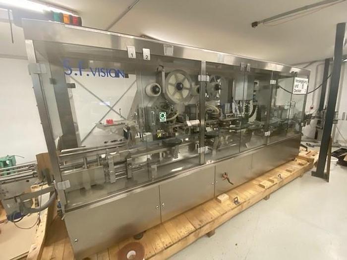 Gebraucht Bechersiegelanlage mit Verschrauber, Fabrikat JBL, Typ Linocap