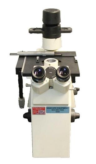 Used Zeiss Axiovert 100 Inverted Fluorescence Phase Contrast Microscope (4540)