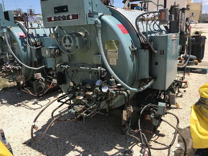 2012 Cleaver Brooks 60 HP 150 PSI Steam Boiler Oil Burner CB-600-60-150