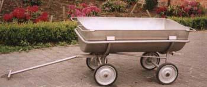 Używane Wózko-wanna nierdzewna, pojemność 350 l