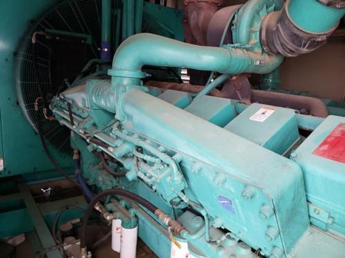 Used 1.5 MW 2000 Used Cummins KTA50 G9 Diesel Generator