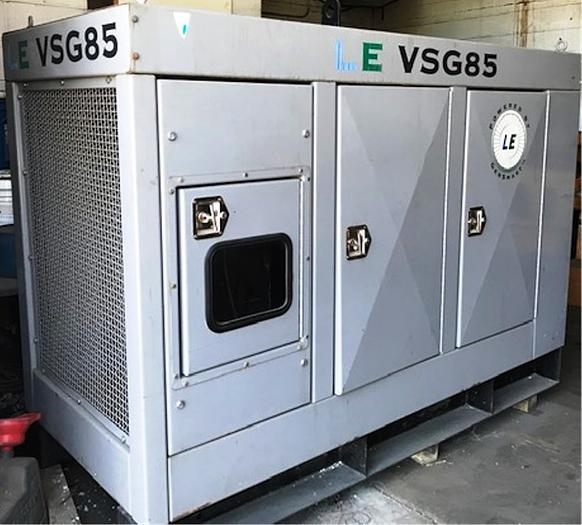 2004 Standby Generator Powered By Iveco Diesel Engine 6 Cylinder LE VSG85