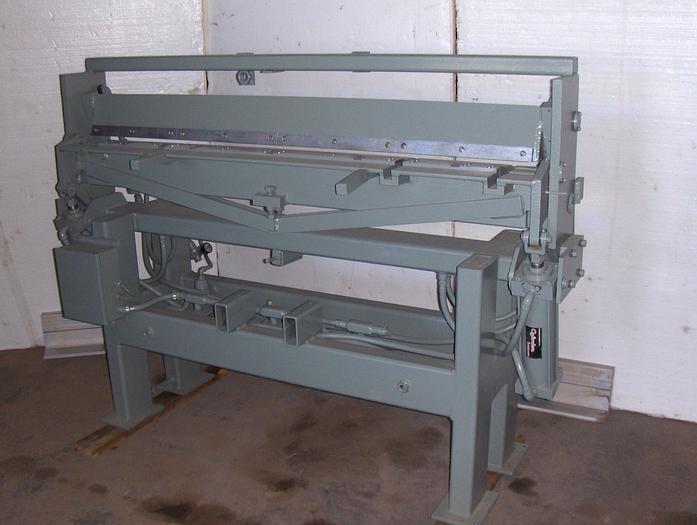 Used 60 in. 16 ga. Iowa Precision Pwr. Apron Brake