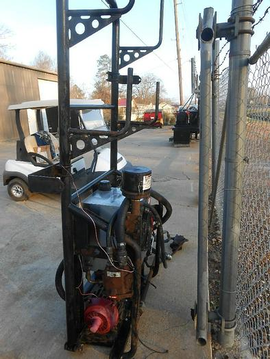 Used GARDNER DENVER BLOWER SYSTEM TRUCK  BLOWER #GD150ACW 1800MAX RPM, HYDROPACK  COOLER MODEL MH3 SN# S307823 WITH MACHINE SERVICES HYD PUMPS