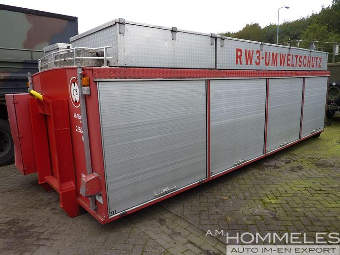 Used Schlingmann tool container