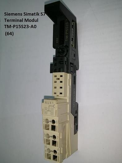Gebraucht 4 Stück Simatic S7 Terminal Modul, TM-P15S23-A0, Siemens