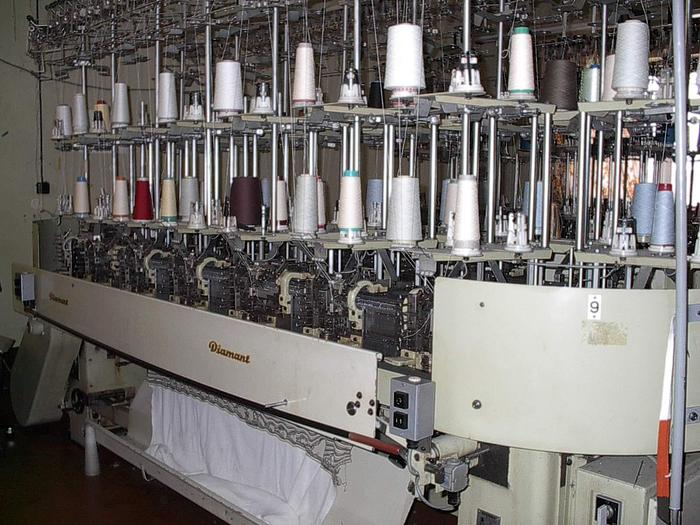 Gebraucht Flachstrickmaschine DIAMANT  FRJ-5480/10 E10/206