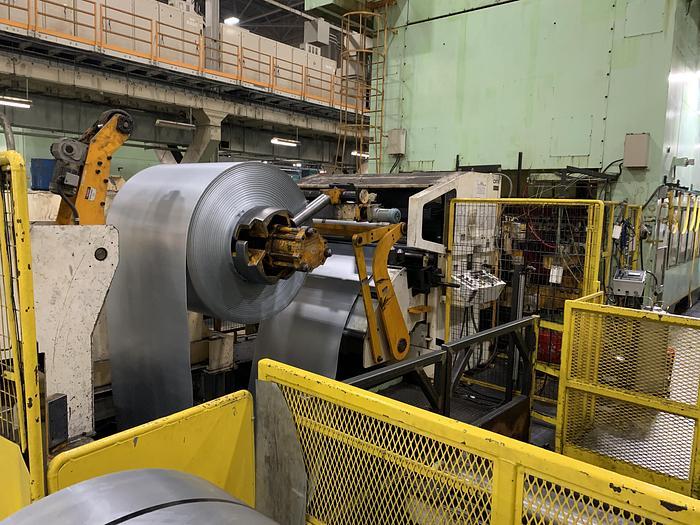 1200 ton Komatsu Stamping Press
