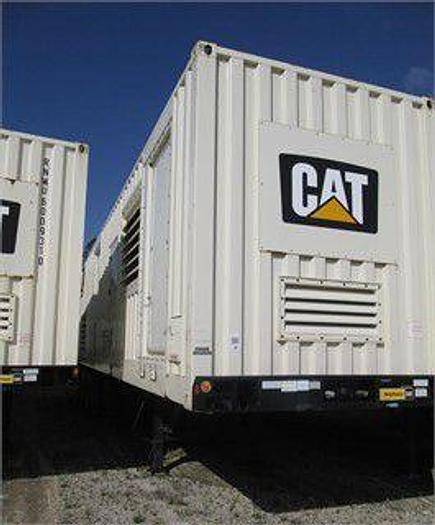 1.250 MW 2012 Used Caterpillar XQ1250G Natural Gas Generators
