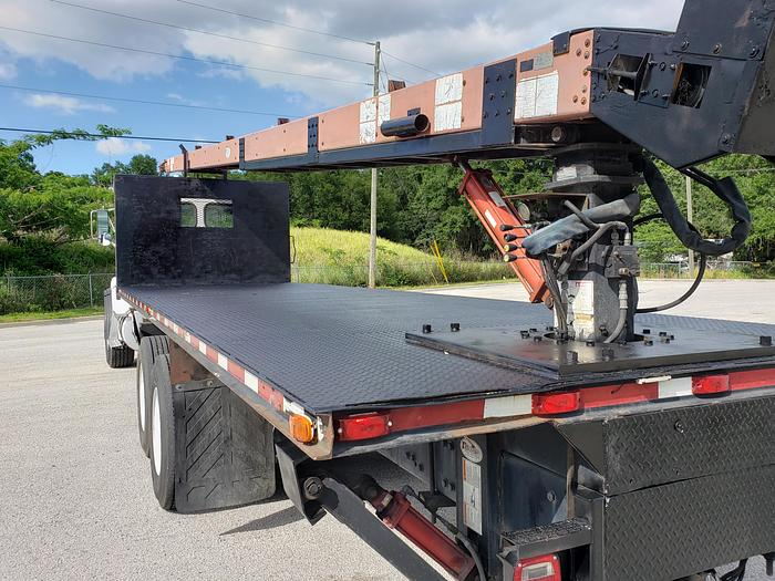 Excellent 2007 Sterling Flatbed Cleasby Roofing Conveyor