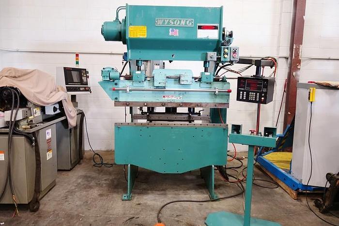 WYSONG PRESS BRAKE H-2052 20 Ton x 52″ Bed H 2050