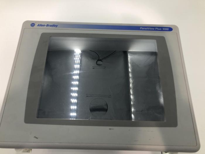 Used ALLEN BRADLEY PANELVIEW PLUS 1000 SERIES B WITH CONTROLNET MODULE