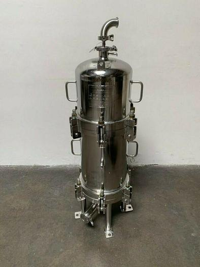 Used Stainless Fluid Products Stainless Steel Filter Housing 150PSIG @ -20°F to 300°F