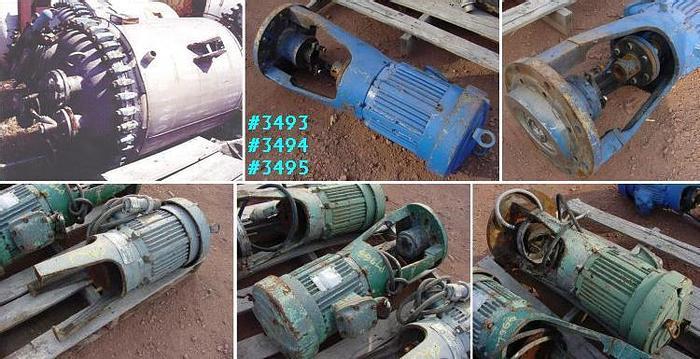 Used 200 GALLON REACTOR – T316L S/S – 100 PSI/FV-85 PSI JACKET