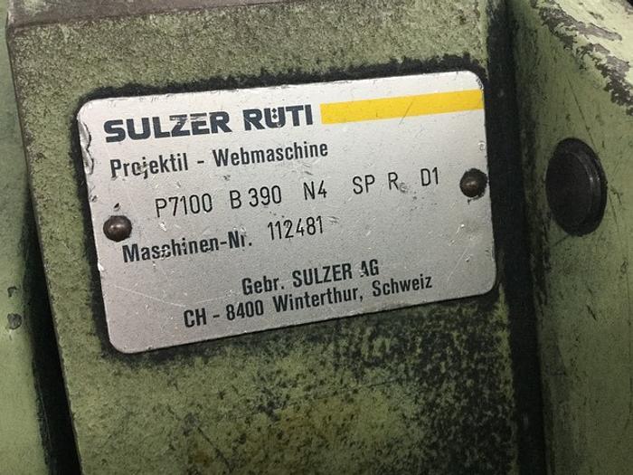 7 Sulzer P7100 Staubli Dobby 2035