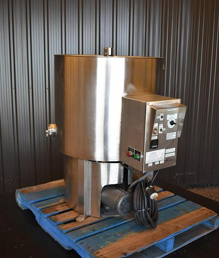 USED 58 GALLON JACKETED TANK, CHOCOLATE MELTER, 450 LBS
