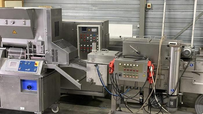 Used Full CFS forming, batter/ breading line with pre-duster