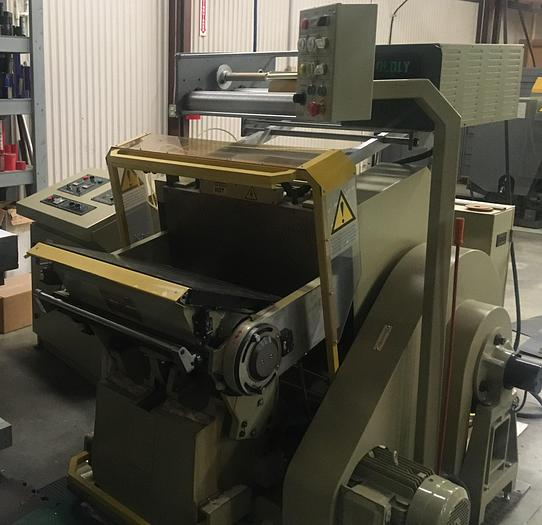 Used 2007 Brausse PE 402/50F Hand Fed Die Cutter & Foil Stamping 2007