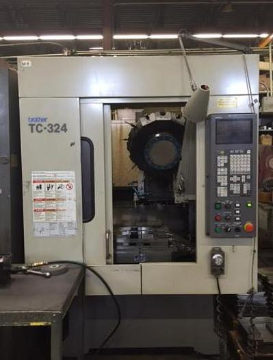 Used 1998 Brother TC-324N Drilling & Tapping Center