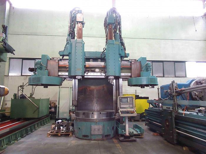 TORNIO VERTICALE MORANDO VLN 17 CNC