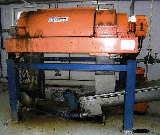 Used KHD-HUMBOLDT S3-0 sludge dewatering decanter
