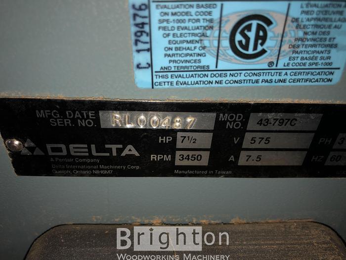 Delta 43-797C Shaper