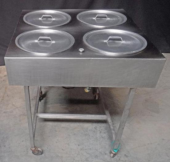 Used USED BELSHAW 4-BOWL WATER-WARMED ICER, MODEL H&I-4