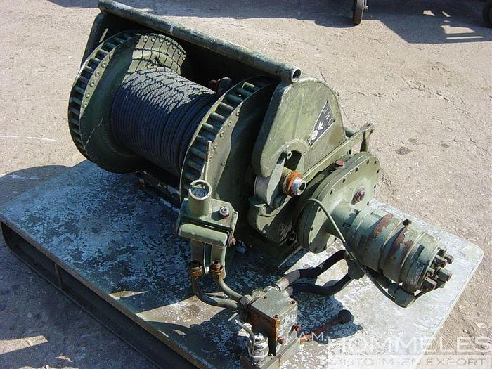 Used Hilgers anchor winch
