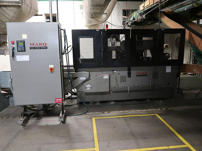 Used MARQ MODEL HPR-HSS-FBD-SL/MW(RH)AB RANDOM CASE SEALER