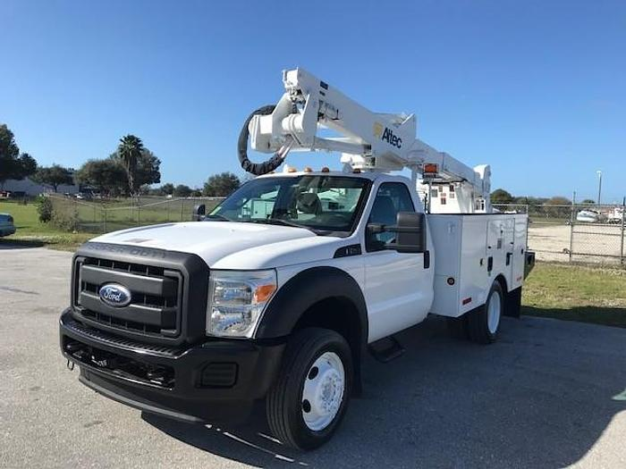 Used 2011 Ford F550 Altec AT37G 42ft Bucket Truck - C23118
