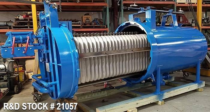 """Used Industrial Filter Type 122.902, Model """"D"""", 303Sq.Ft., Size 48-3-22"""