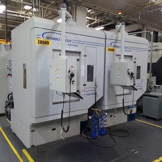 2018 2- AVAILABLE WINBRO  MODEL HSD6-III HIGH SPEED 6 AXIS EDM DRILLING SYSTEMS